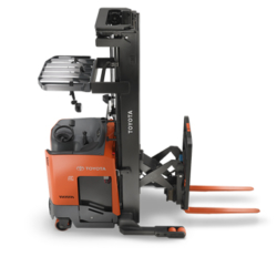Reach truck forklift training by Learn2Forklift